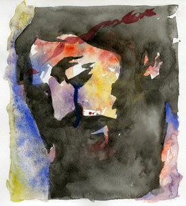 Intimate Portrait Watercolor giclee print