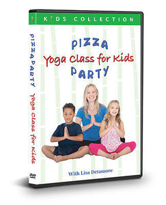 Pizza Party: Yoga For Kids with Lisa Detamore (DVD)