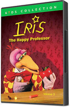 Iris: The Happy Professor Vol. 3 (DVD) NEW, Science for preschoolers, puppets