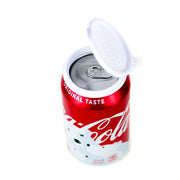 12-Pack | Soda/Beverage Can Lids | Clear Color