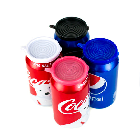 8-Pack | Soda/Beverage Can Lids | Multi-Color