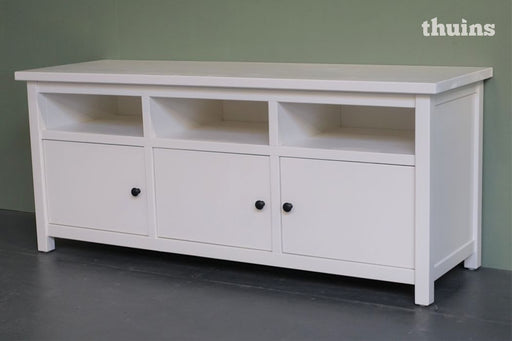 TV Dressoir Bonde, wit gelakt