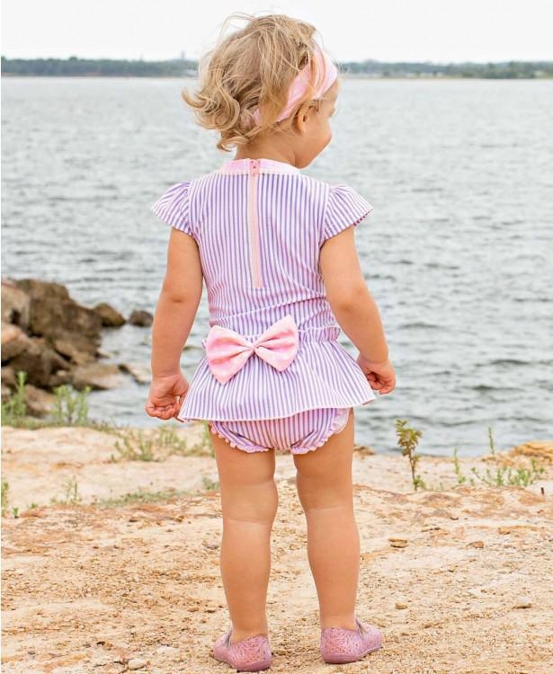Ruffle Butts One Piece Long Sleeve - Luna Baby Modern Store
