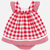 Mayoral Plaid Dress - Luna Baby Modern Store
