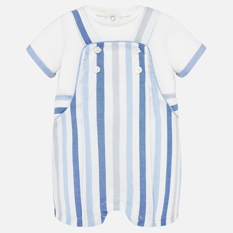 Mayoral Dungaree Dress - Luna Baby Modern Store