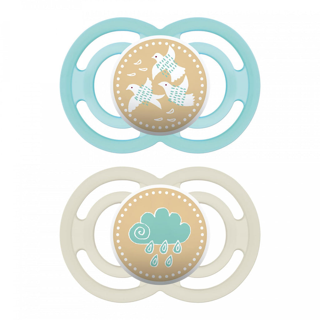 MAM Perfect Pacifier, 6+ Months, Double Packs - Luna Baby Modern Store
