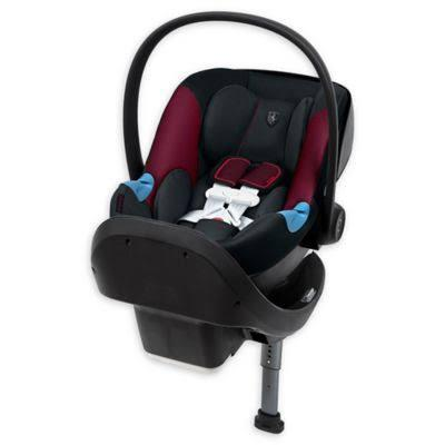 CYBEX Special Edition Ferrari Aton M Infant Car Seat in Victory Black - Luna Baby Modern Store