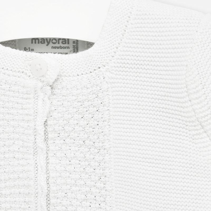 Mayoral Basic Knit Long Cardigan - Luna Baby Modern Store