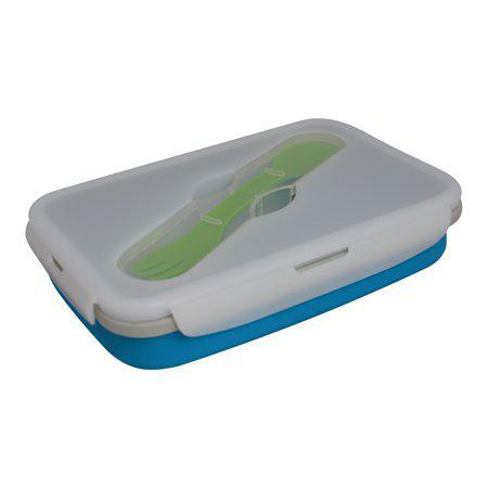 Eco Vessel Collapsible Silicone Lunch Box - Luna Baby Modern Store