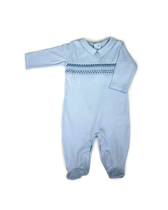 Patucos Smock Pijama New Collection - Luna Baby Modern Store