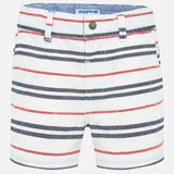 Mayoral Striped Bermuda Shorts - Luna Baby Modern Store