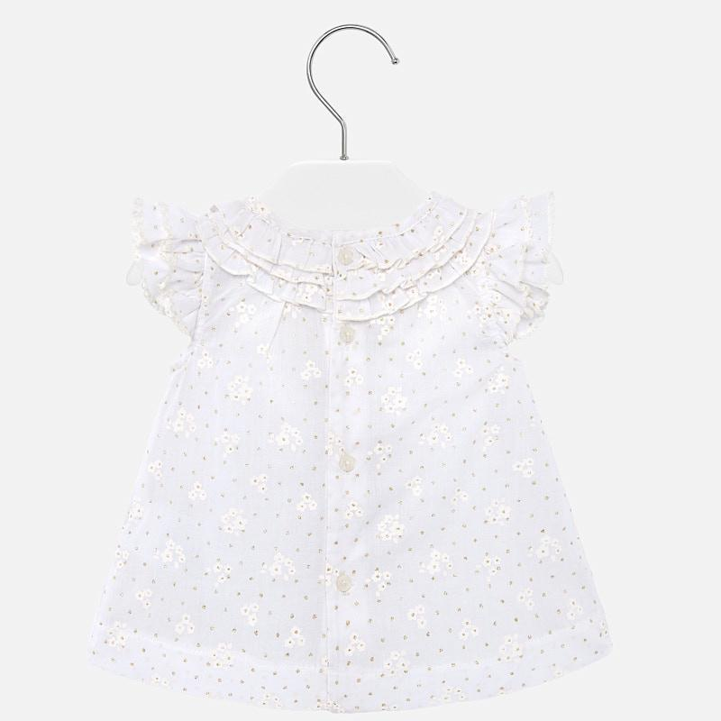 Mayoral Voile Ruffled Blouse - Luna Baby Modern Store