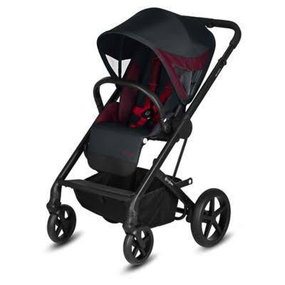 CYBEX Special Edition Ferrari Balios S Stroller in Victory Black - Luna Baby Modern Store