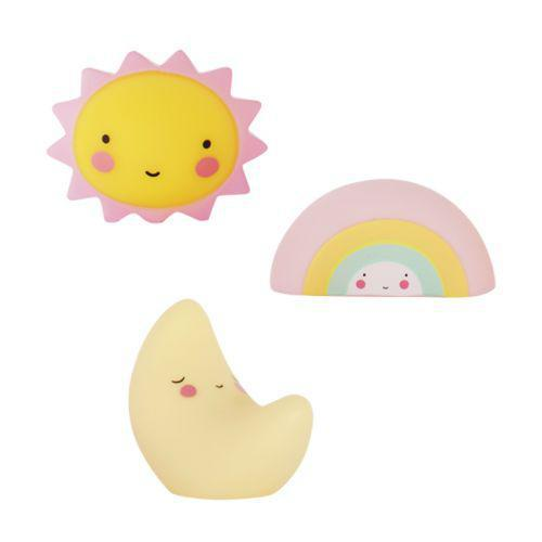 Little Lovely Company Minis Sun Moon Rainbow - Luna Baby Modern Store