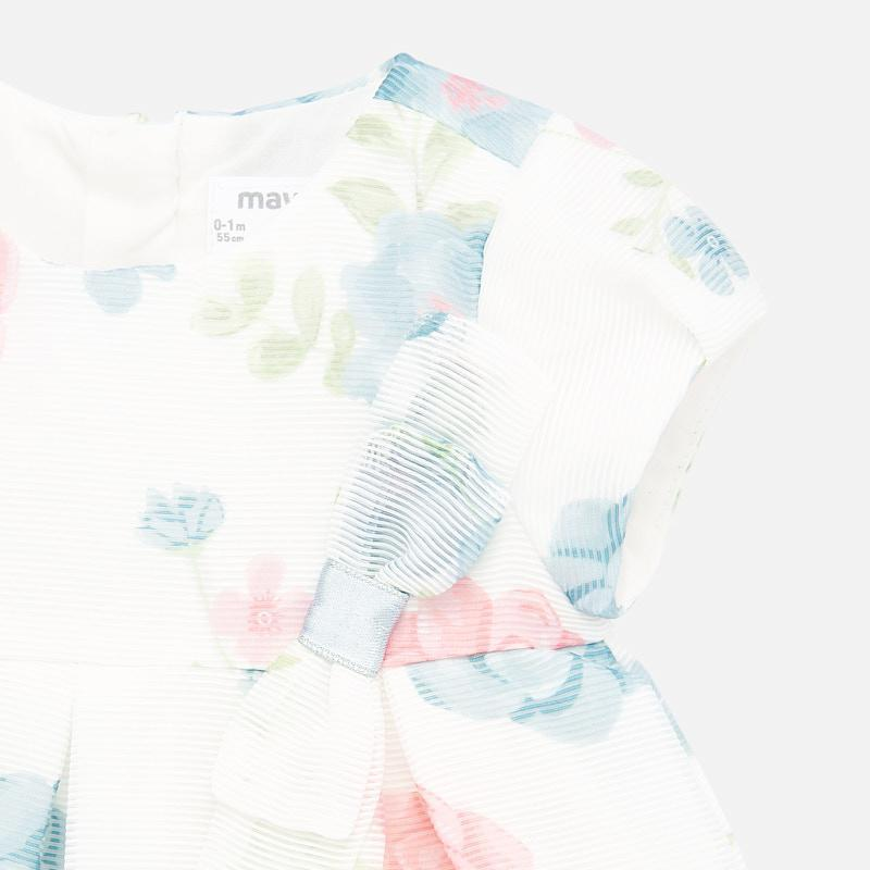 Mayoral Printed Dress - Luna Baby Modern Store