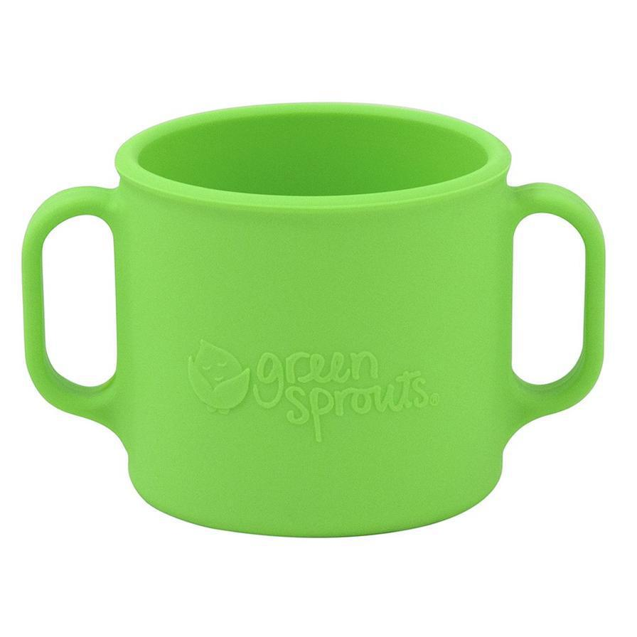 Green Sprouts Learning Cup Made From Silicone - Luna Baby Modern Store