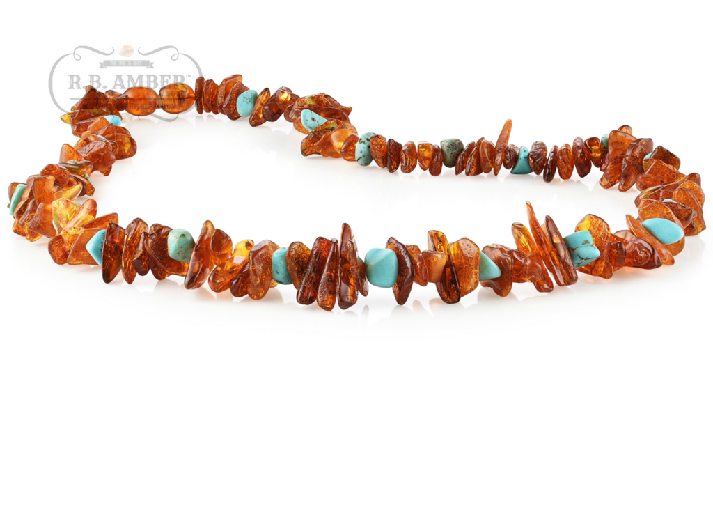 R.B Amber Necklace Adult - Luna Baby Modern Store