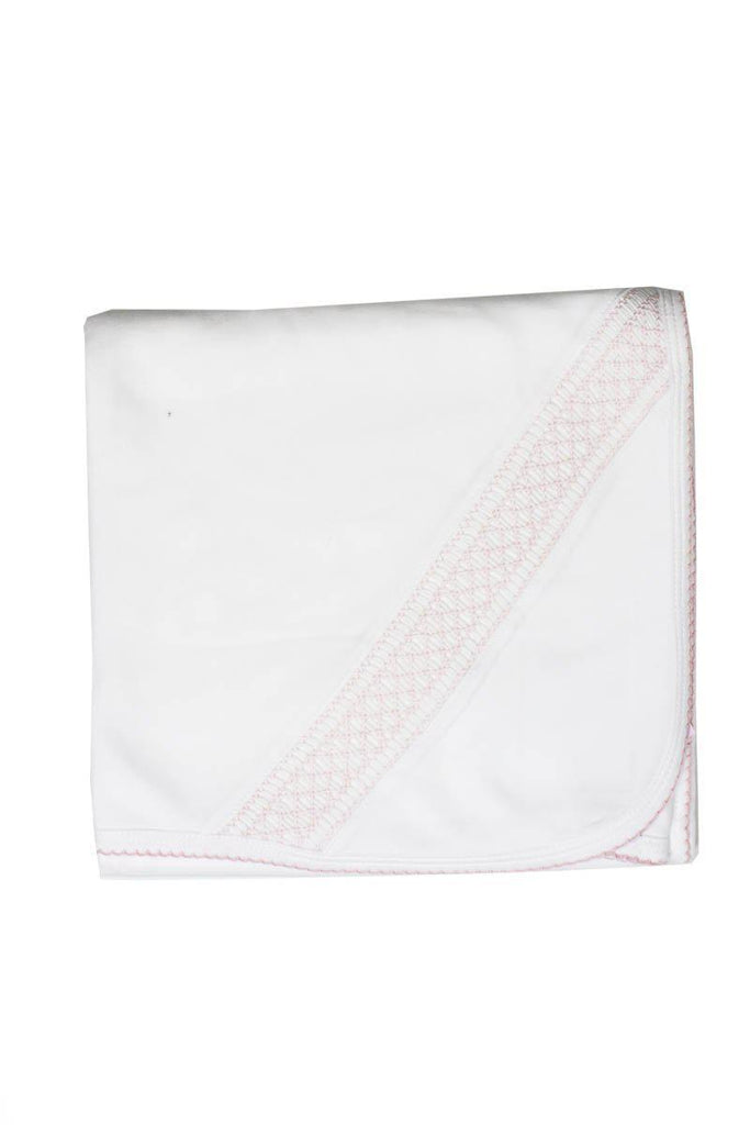 Patucos Smocked Cotton Blanket Pima Cotton - Luna Baby Modern Store