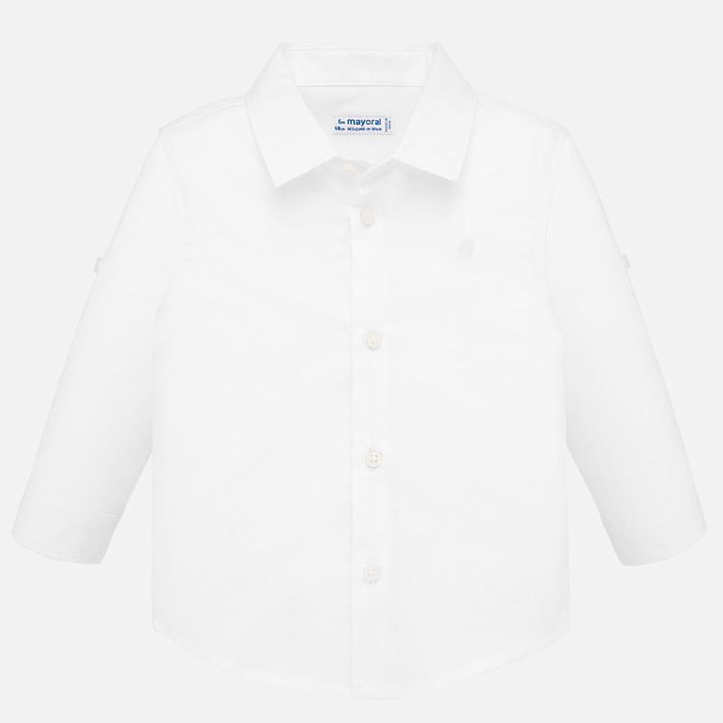 Mayoral Basic Linen L/s Shirt
