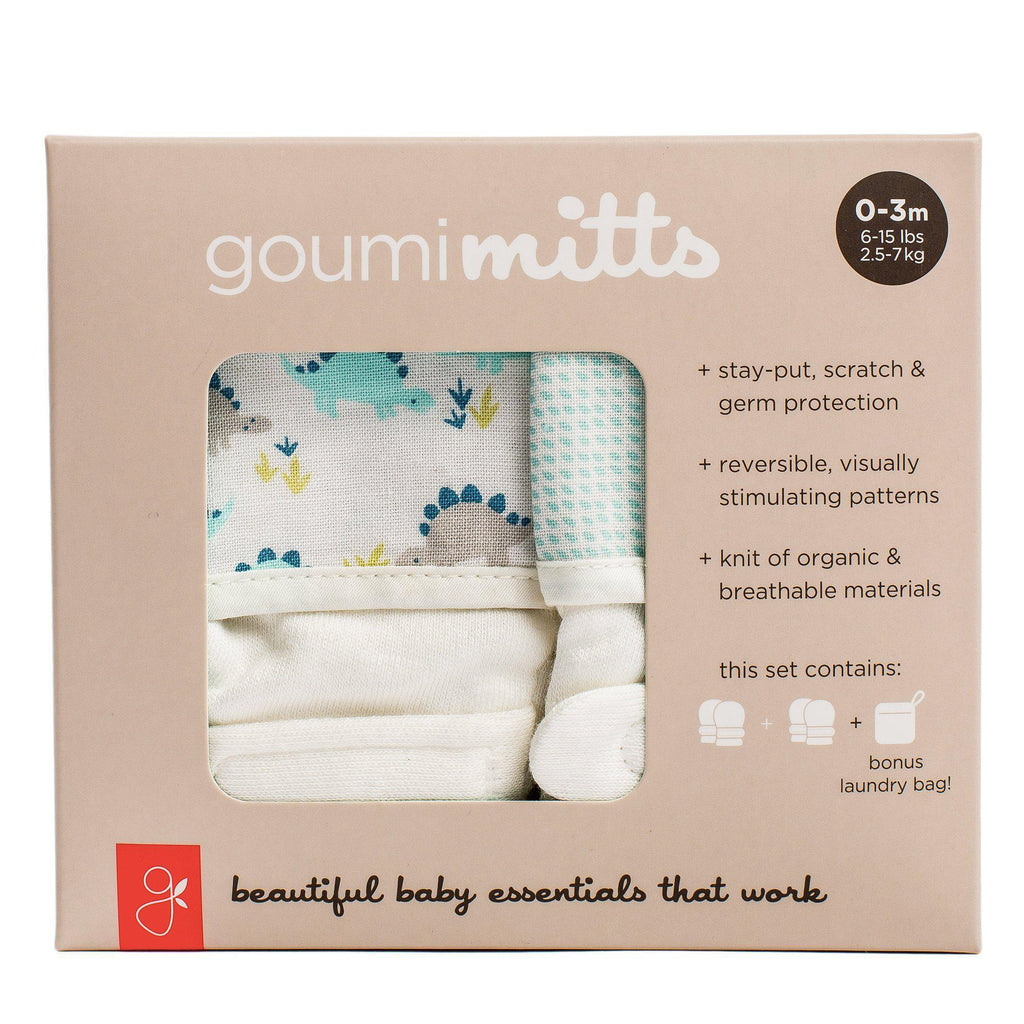 Goumi 0-3M Mitts Two Pack - Luna Baby Modern Store