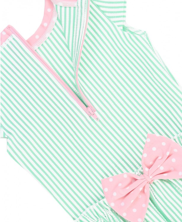 Ruffle Butts One Piece Short Sleeve