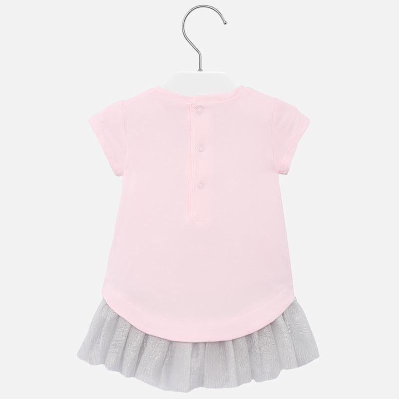 Mayoral Knitted Dress With Tulle - Luna Baby Modern Store