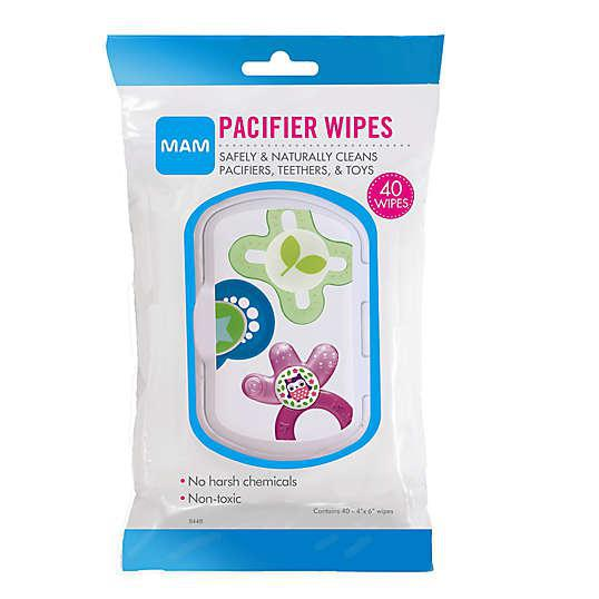 MAM 40-Pack Pacifier Wipes - Luna Baby Modern Store