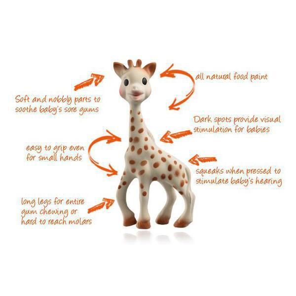 Sophie The Giraffe In So'pure Box - Luna Baby Modern Store
