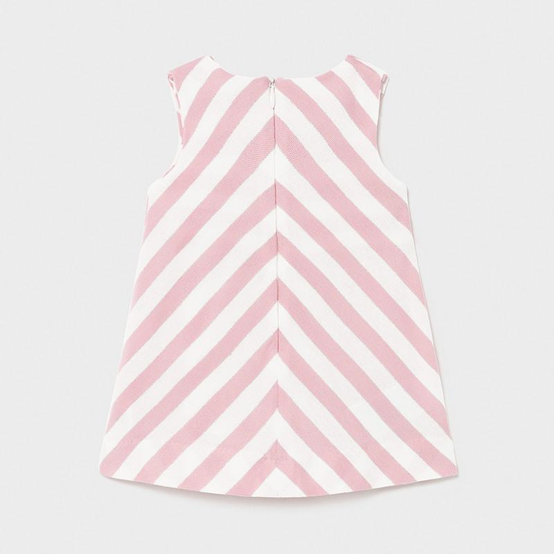 Mayoral Stripes dress baby girl