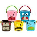 Skip Hop Zoo Stack & Pour Buckets - Luna Baby Modern Store