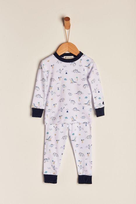 Babycottons Dino´s Art Boy Snug Fit Pajama Set