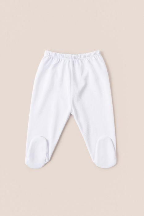 Babycottons Logo Footed Pants