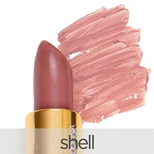 La Bella Donna Mineral Light Up Lip Colour | All Natural Pure Mineral Lipstick | Long-Lasting Color | Hydrating Formula | 100% Vegan | Hypoallergenic and Cruelty Free - Shell