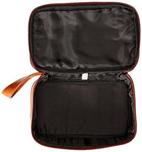 Dopp Men's Veneto Top Zip Travel Kit Leather