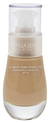 La Bella Donna Women's Ultimate Pure Perfection Liquid Mineral Foundation SPF 15 | Amber