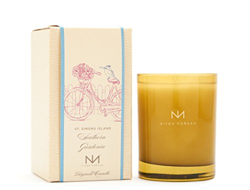 Niven Morgan St. Simons Island - Southern Grardenia Scented Candle (No Matches)