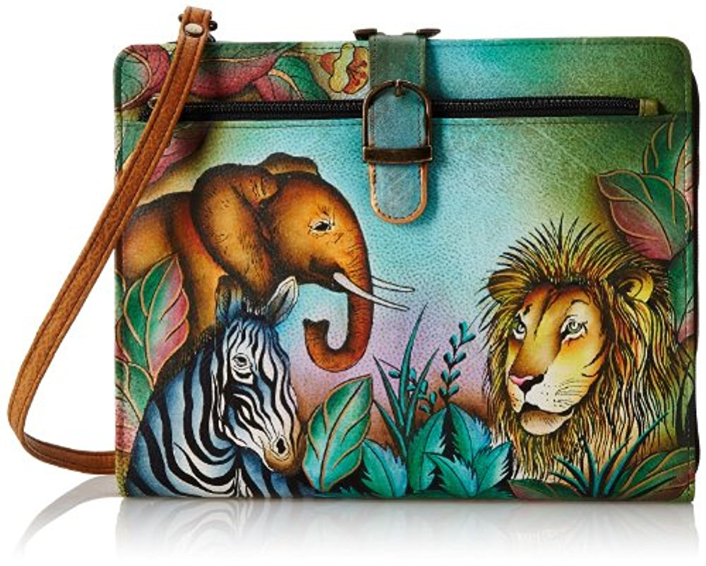 Anuschka Genuine Leather Hand Painted Tablet Case