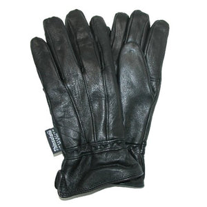 Dorfman Pacific Womens Lambskin Leather Thinsulate Lined Driving Gloves,Large / X-Large,Black