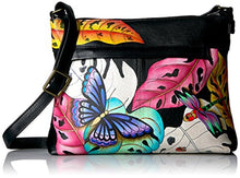 Anuschka Hand Painted Leather Medium Cross Body