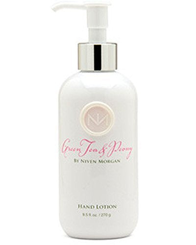 Niven Morgan Green Tea & Peony Hand Lotion 9.5 oz