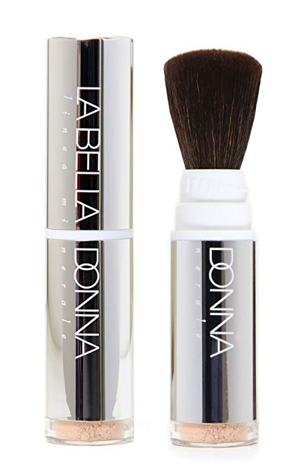 Minerals on the Go - (Dispensing Brush w/ Loose Foundation) in Crema