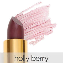 La Bella Donna Mineral Light Up Lip Colour | All Natural Pure Mineral Lipstick | Long-Lasting Color| Hydrating Formula | Hypoallergenic and Cruelty Free - Holly Berry