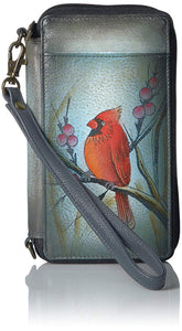 Anuschka Handpaint Leather Phone Case and Wallet