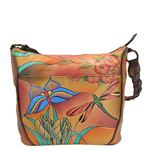Anuschka Handpaint Small Crossbody Bag