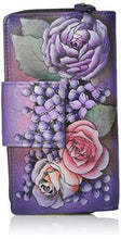 Anuschka Handpainted Leather Two Fold Organizer Wallet