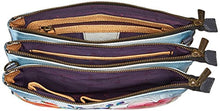 Anuschka Triple Compartment Crossbody
