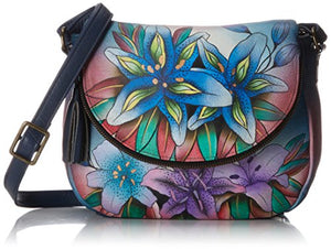 Anuschka Hand Painted Medium Flap-Over Convertible