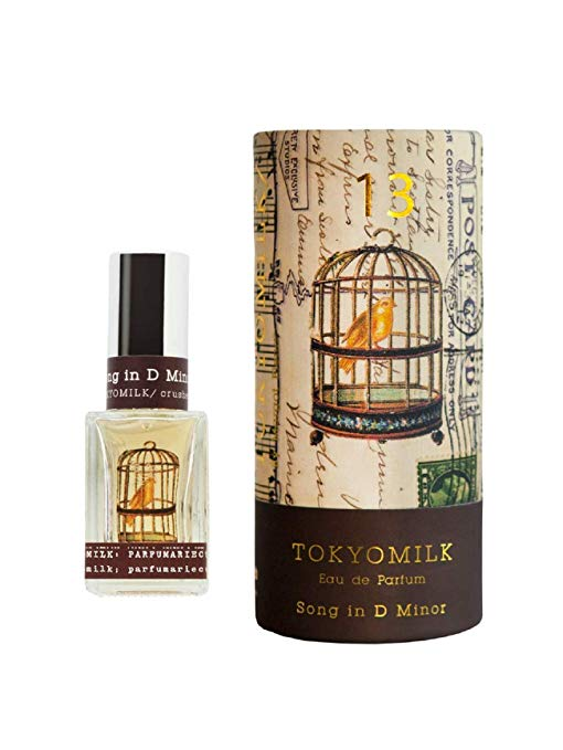 TokyoMilk by Margot Elena - Song in D Minor No. 13 Parfum with Gift Box - White Orchid, Orange Flower, Gardenia & Amber | 1 fl oz
