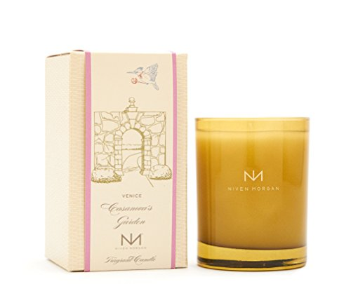 Niven Morgan Venice - Casanova's Garden Scented Candle (No Matches)