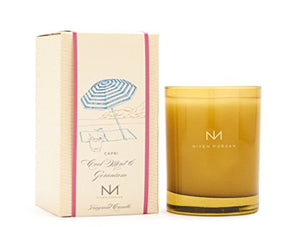 Niven Morgan Capri - Cool Mint and Geranium Scent Candle (No Matches)
